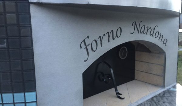 A Forno Nardona pizza oven designed to meet the specifications of our customers.