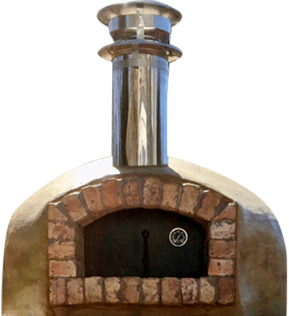 Nardona Rustico Model wood-fired pizza oven by Forno Nardona.
